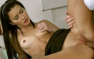 Fabulous Alexi Star gets her wet muff deeply gaped