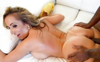 Insane interracial banging with nasty Richelle Ryan